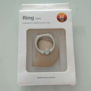 Cat Shape Ring Stent Gold Neko