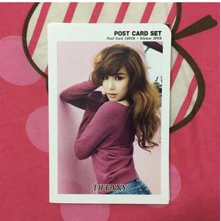 Girls Generations : Tiffany Post Cards Set