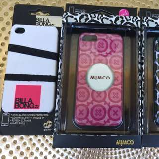 Mimco/ Billabong iphone 4/5 case