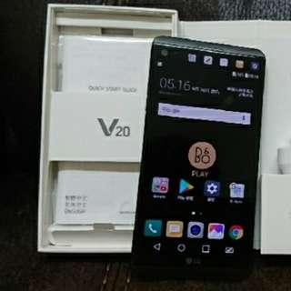 LG V20 韓水單咭 全套 99%new