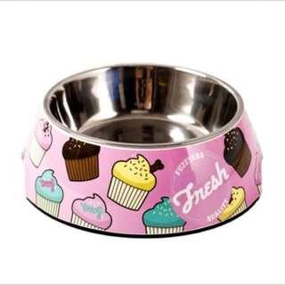 Cupcake Dog Bowl