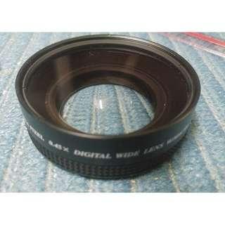 Hi-V Megapixel 0.45X Lens 58mm Made in Japan