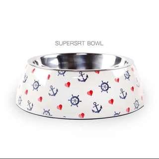 Anchor Dog Bowl
