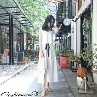 White Terno Top and Pants