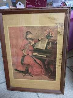 🚚 雷偌瓦  彈鋼琴的少女