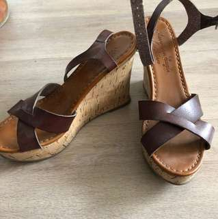 Brown Wedges from American Eagle