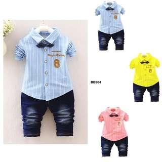 《READY STOCK》Baby Boy Summer Clothing Set (BB 904)