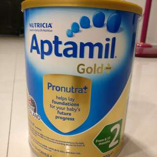 Brand new Aptamil Gold+ stage 2 formula