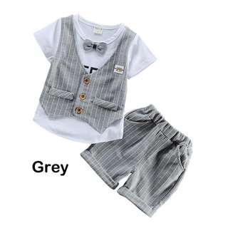 《READY STOCK》Baby Boy Summer Clothing Set (BB 900)