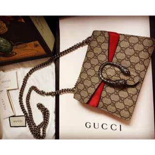Gucci mini酒神包