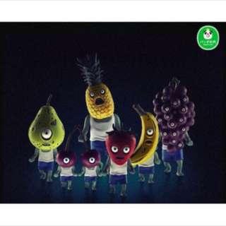 水果 殭屍 櫻桃 香蕉 扭蛋