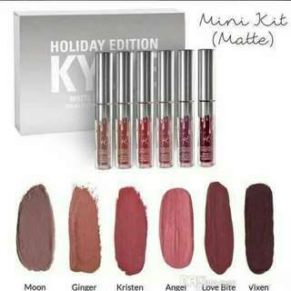Kylie holiday edition set