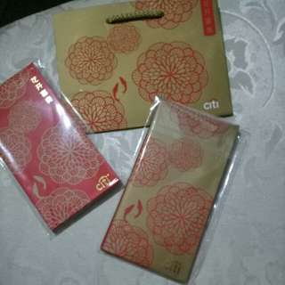 Citigold Red packets set, only this 1 set