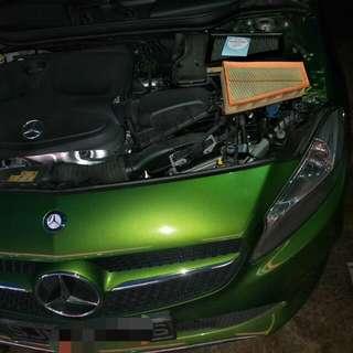 Mercedes A180 Hurricane Filter