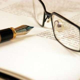 Writer or tutor
