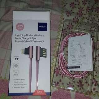 L型Lightning充電線