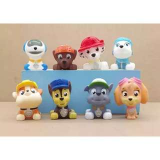 Cute Paw Squishy Toys Figurines Toppers