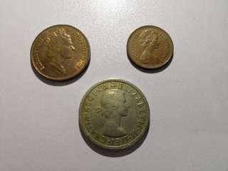 ELIZABETH 2 Shillings
