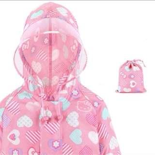 Brand new Hello kitty children raincoat