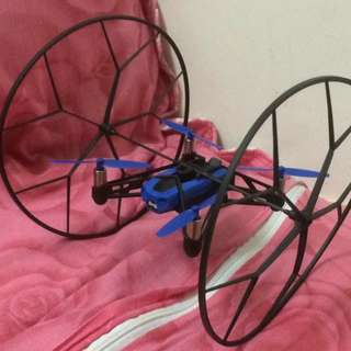 Parrot mini drones rolling spider