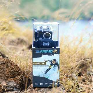 Supremo 4k Action Camera comes with 4 months warranty and 20+ FREEBIES !! Order now :)
