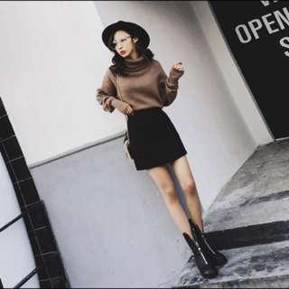 🚚 黑色短裙