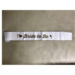 Bride to be Sash & Tattoo Set