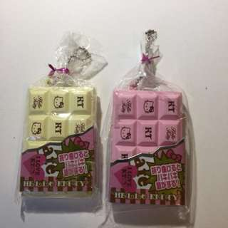 Authentic licensed Hello kitty chocolate bar squishy (NOT REPRODUCED)