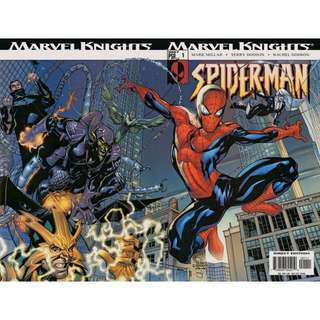 "MARVEL KNIGHTS SPIDER-MAN #1 - 4 (2004) ""Down Among the Dead Men!"" Mark Millar/ Terry Dodson"