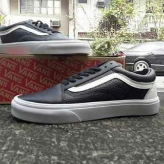 292e197b5104 Vans Oldskool Leather Black