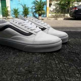 Vans Oldskool Leather (White)