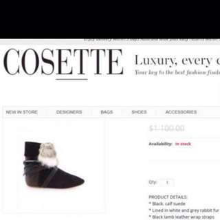 Isabel Marant Nia Boots **RRP$1000-Celebrity Favourite!
