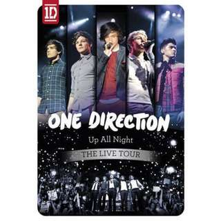 One Direction - Up All Night: The Live Tour DVD