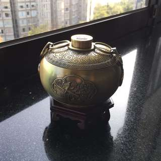 Ningbo Bang Museum Solid Brass Hand Warmer - 100% New
