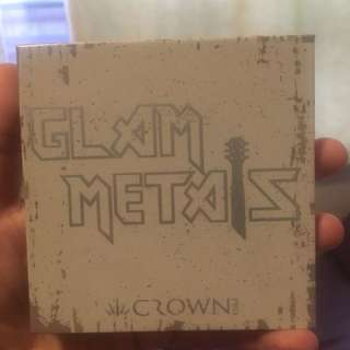 Glam metal palette by crown pro