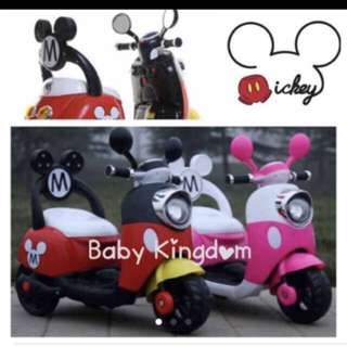 *In-stock* Baby toddler/ children /kid rechargeable electric bike scooter (home/ gadget/ laptop/ car/ PS4/ toys/ birthday/ treks/ bicycle/ game/ girl/ facial/ activity)