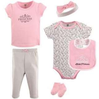 *New* LAYETTE CLOTHING 6-PIECE SET, PRINCESS