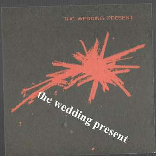 MY CD - THE WEDDING PRESENT -FREE DELIVERY BY SINGPOST.