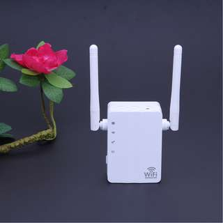 Brand New Wireless Repeater Boost Wifi Signal Free Setup Video, easy setup via Handphone 300mbps