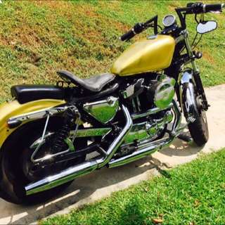 1999 Sportster XLH883, Carb.