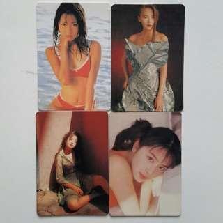 日本女星 11張卡 ( 68 )