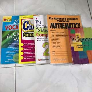 ENGLISH AND MATHS PRIMARY 2