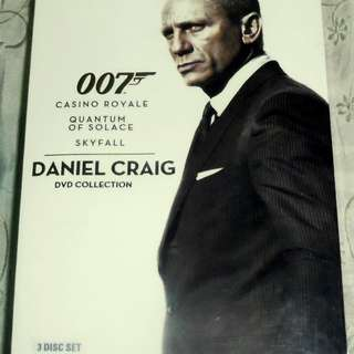 James Bond 007 Daniel Craig Collection Brand New Sealed