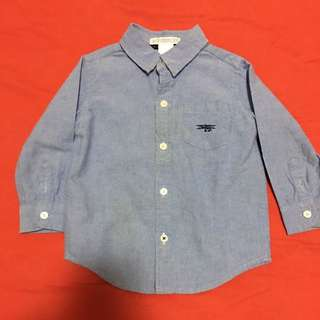 Janie and Jack shirt 12-18m