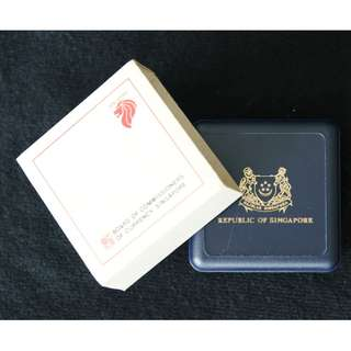 1987 Singapore Centenary of the National Museum $5 Commemorative Coin with Box & Cover (MINT)