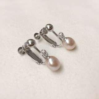 Clip-on Earrings - Pink