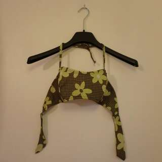 Bandeau swim top (medium)