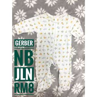 Gerber Baby Sleepsuit
