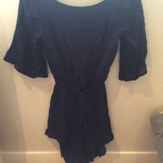 Low back playsuit