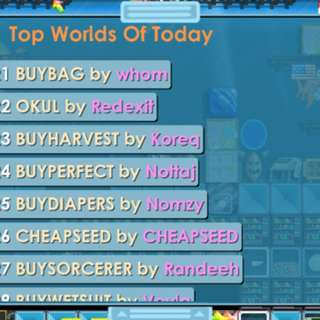 Growtopia Auto Honors Trade World